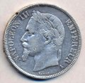 5 франков 1868 (Франция)  (лот №123)