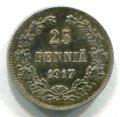 25 ПЕННИ 1917 (ЛОТ №237)