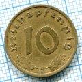 10 ПФЕННИГОВ 1939 А ГЕРМАНИЯ (ЛОТ №69)