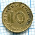 10 ПФЕННИГОВ 1938 А ГЕРМАНИЯ (ЛОТ №68)