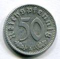 50 ПФЕННИГОВ 1940 А (ГЕРМАНИЯ) ЛОТ №20