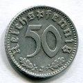 50 ПФЕННИГОВ 1943 J (ГЕРМАНИЯ) ЛОТ №15
