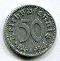50 ПФЕННИГОВ 1941 А (ГЕРМАНИЯ) ЛОТ №19